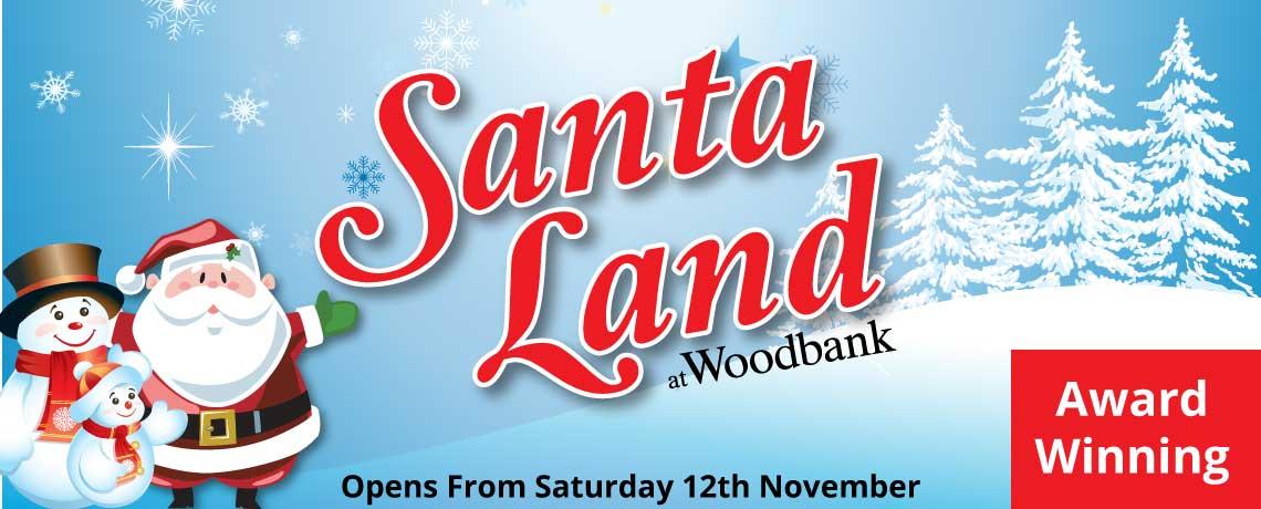 Santa Land at Woodbank Nurseries
