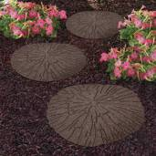 The Cracked Log stepping stone offers you an excellent solution to creating an attractive and natural looking walkway in any outdoor space. Manufactured from recycled rubber tyres ensures that these stepping stones are extremely hard wearing and suitable for use outside, year around.