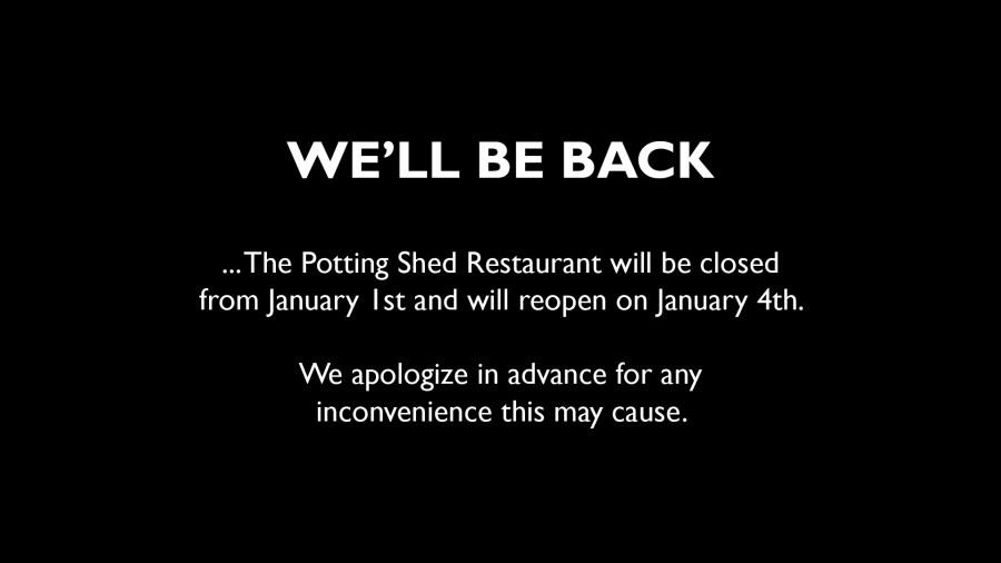 Restaurant Temporary Closure
