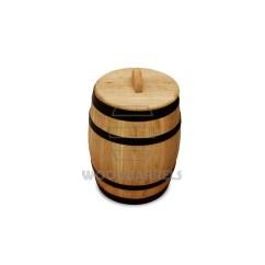 Wooden Beer Barrel Chairs Book Shelf Chair Pickled Gherkins Oak 3l
