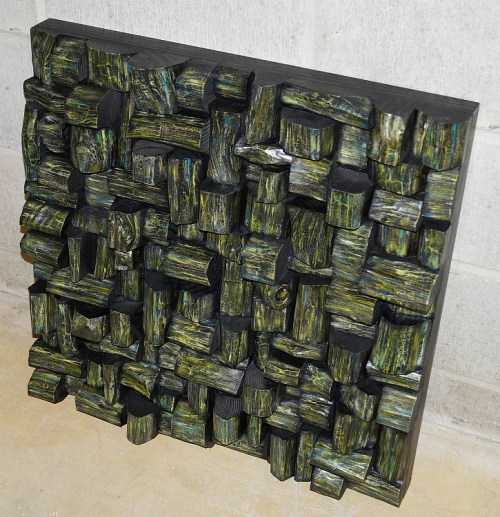 sound diffuser, acoustic panel, wood acoustic panel, acoustic treatment, wood sound diffuser, art acoustic wood panel