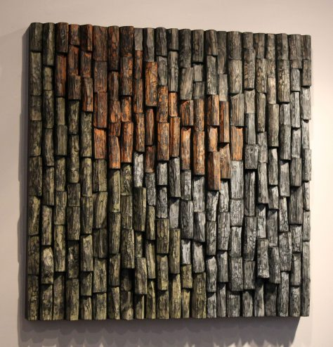 wooden art. wood wall art, contemporary wooden art, corporate art, office art, acoustic panel, wood sound diffuser
