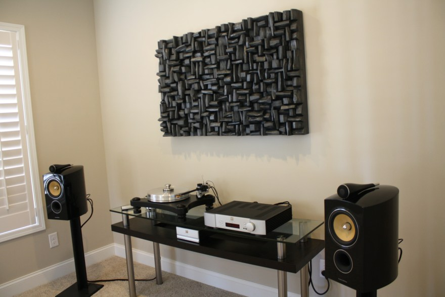 Acoustic Diffuser Art, unique combination of contemporary design and high sound performance