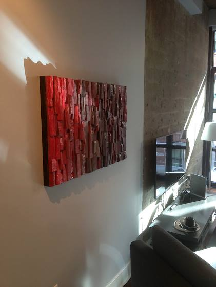 Creativity meets acoustic functionality. An extraordinary piece of art brings wow factor to your place while reducing echo and reverberation in your space