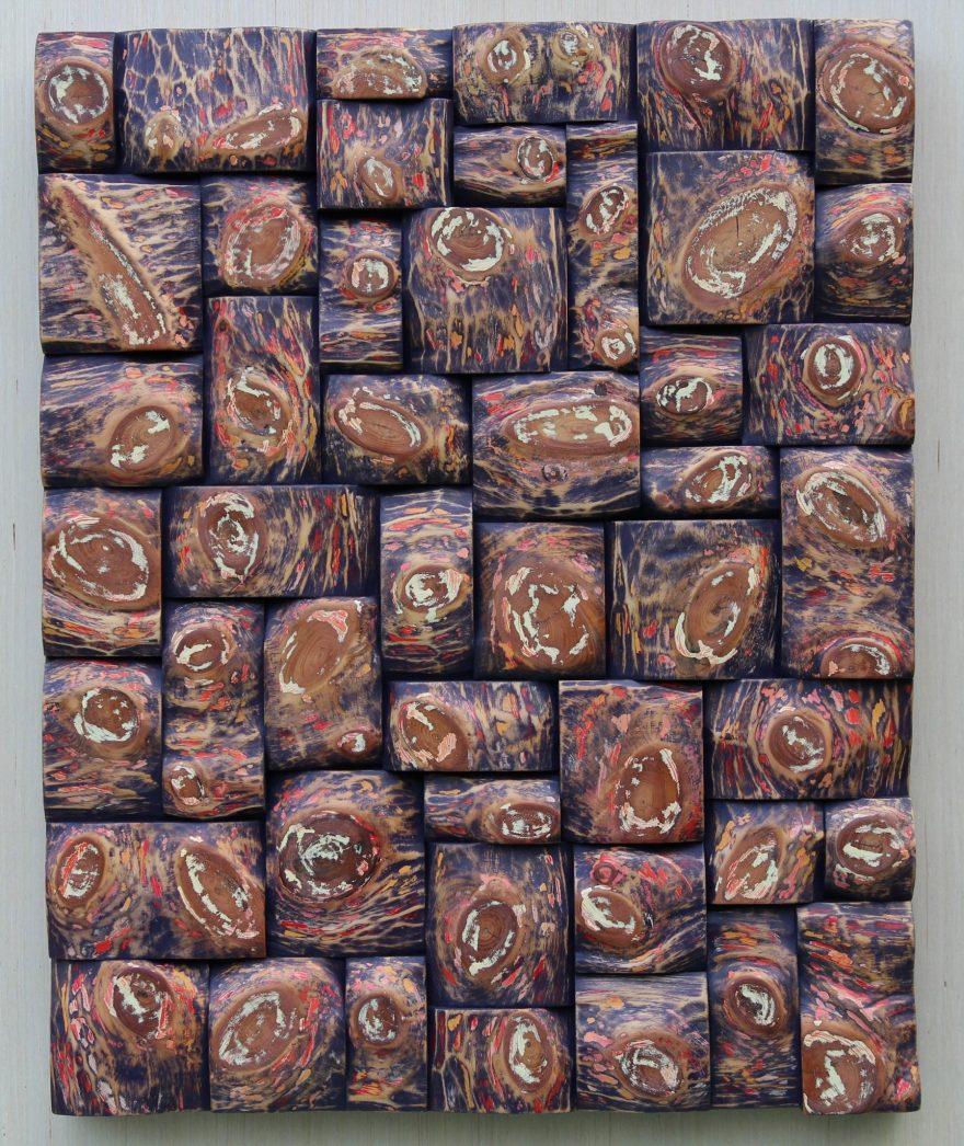 wood art, wood wall art, interior design, wood assemblage, Olga Oreshyna art, eccentricity of wood, wood interior design, wabi sabi art, cottage life,