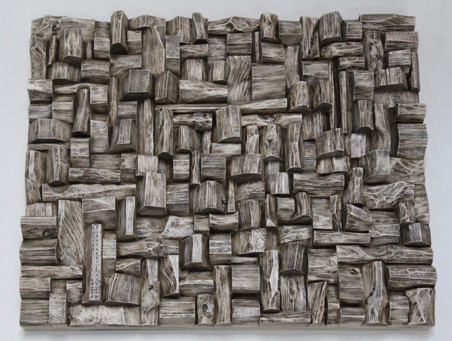 wabi sabi art, wood art, corporate art, office art, cottage art, acoustic treatment, acoustic art, art acoustic panel, wood art diffusive panel, interior design, wood wall sculpture, Olga Oreshyna Art, TAVES 2017, Artexpo NY, art Toronto