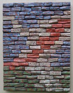 wood art, wall art ideas, painting on wood, wood blocks panel, interior design, art acoustic panel, corporate art, wood wall art, office art, art Toronto