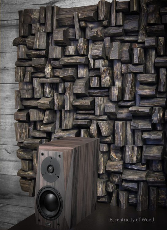 Art diffusive panels designed and created as a functional work of art. Innovative acoustic art will bring a style to your space and enhance the sound quality