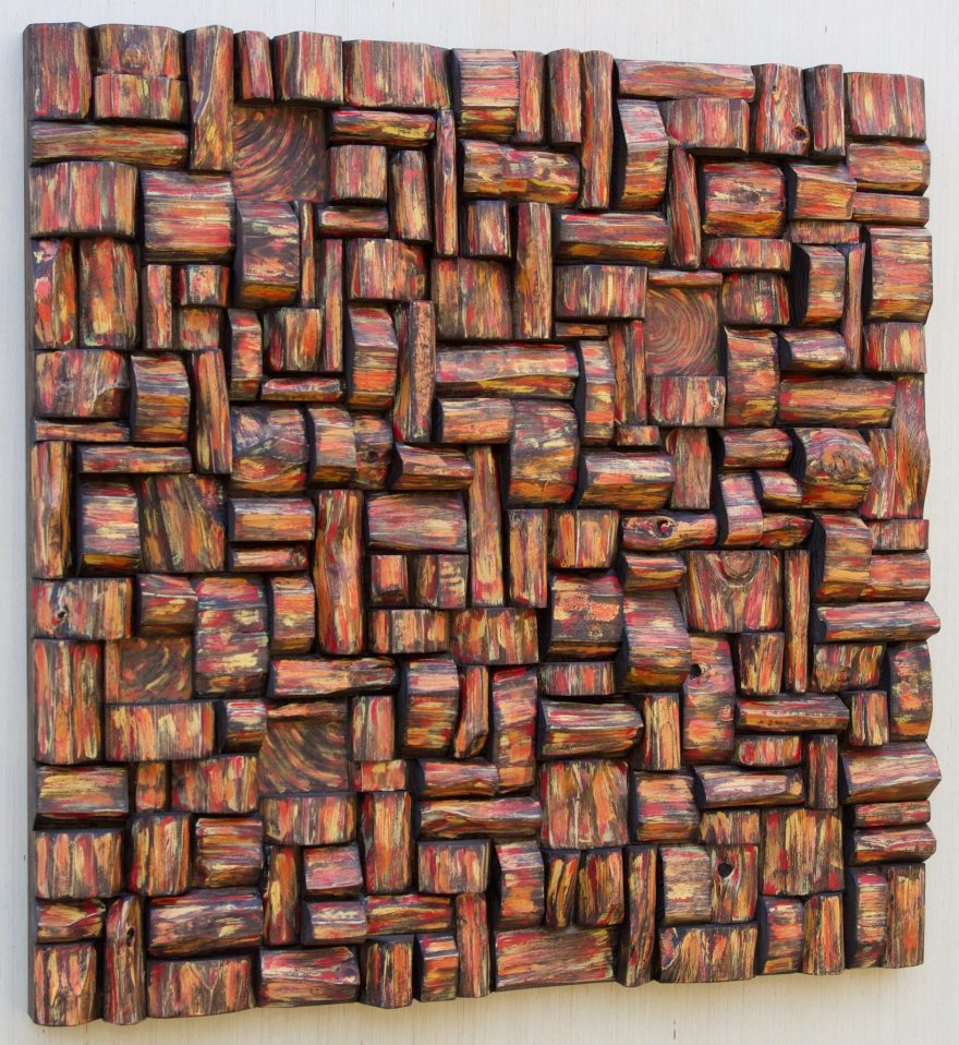 Wood Art Acoustic Panel will work as Interior Accent piece, that makes a grand statement while eliminating acoustical problems.