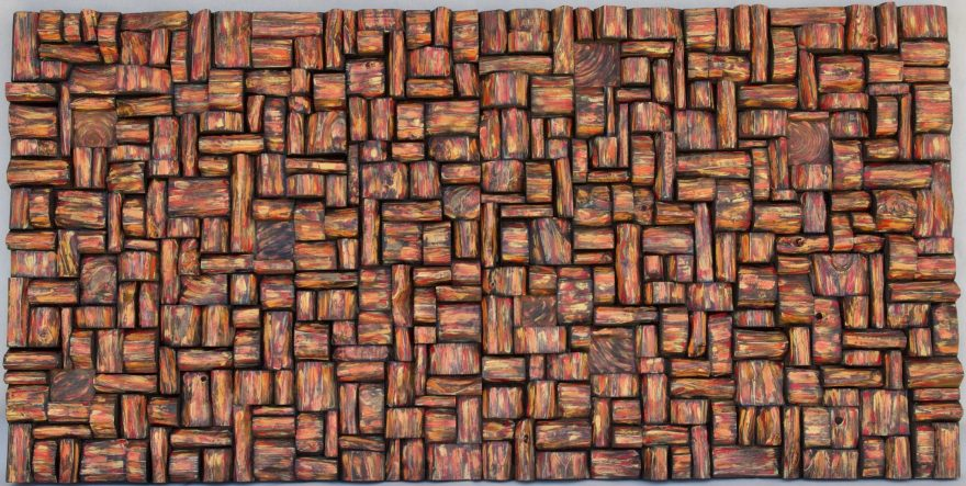 Decorative Acoustic Wood Wall Art, innovative acoustic solution designed to bring your empty walls to life and make your space feel stylish while improving sound performance