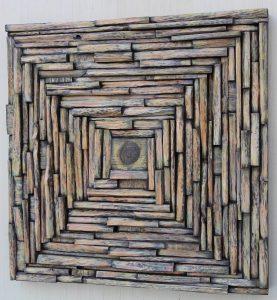 contemporary art, eccentricity of wood, wood blocks design, wood wall art, zen art, natural art, cottage decor
