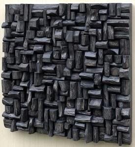 Wood Wall Sculpture, Art Diffusive Panel
