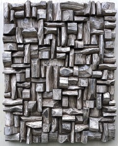contemporary wall sculpture