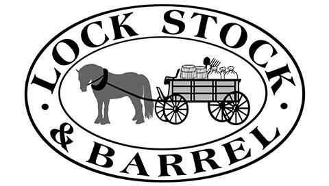 lock, stock, barrel logo copy