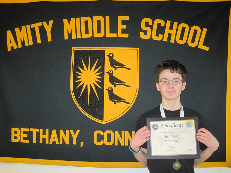 2017 Connecticut National Geographic State Bee Semifinalist