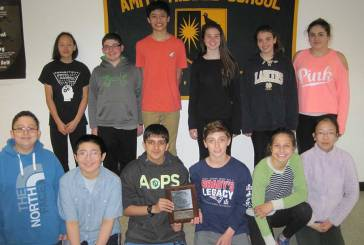 Amity Middle School-Bethany 2017 New England Math League Contest
