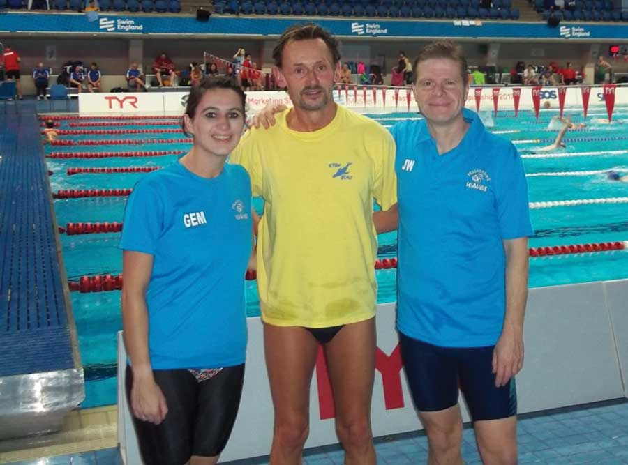 Four Medals at the Nationals for 21st Century Swimmers