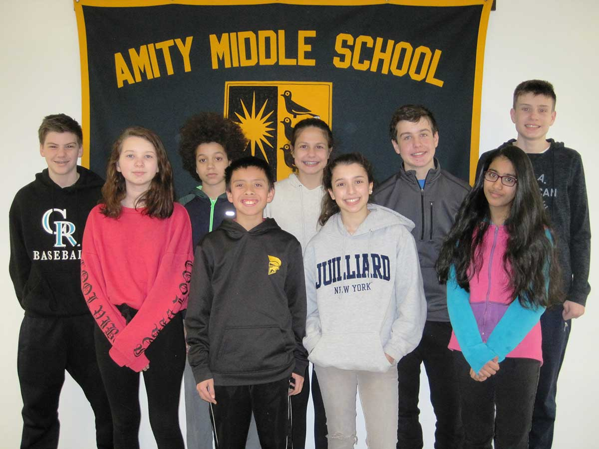 Amity Middle School Students Compete at the 70th Annual Connecticut Science & Engineering Fair