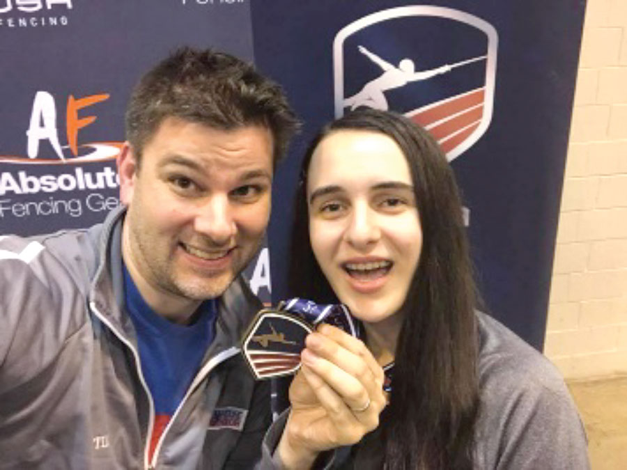 Tim Morehouse Fencing Club Brings Back Medals from National Championships