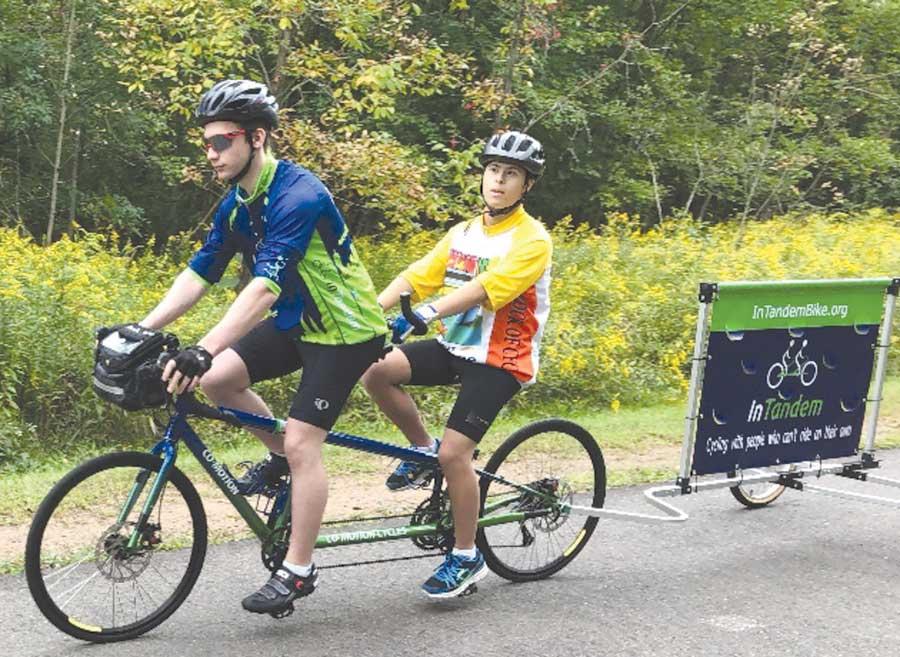 Amity Teen Promotes Inclusive Cycling