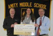 Amity Middle School Bethany Receives Hulley Arts Foundation Grant For Fiber Art Project
