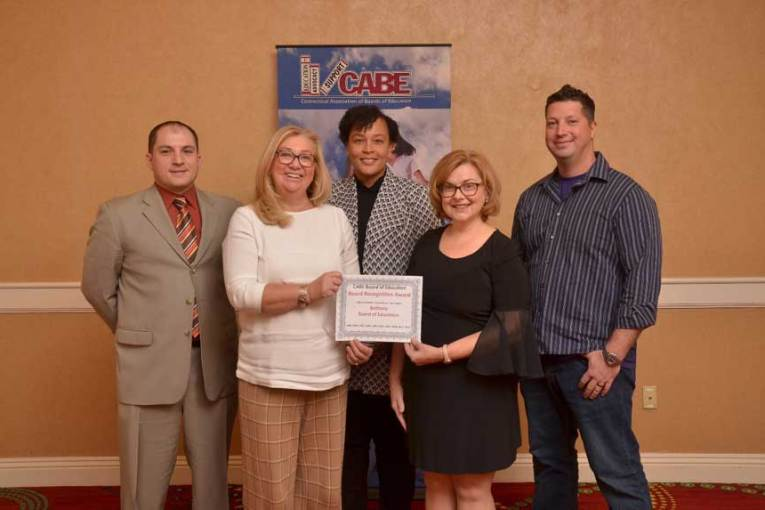 Bethany Board Of Education Receives Board Recognition Award At Major Education Convention