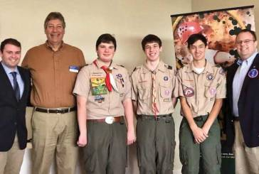 Orange And Woodbridge Rotary Clubs Honor Three Eagle Scouts