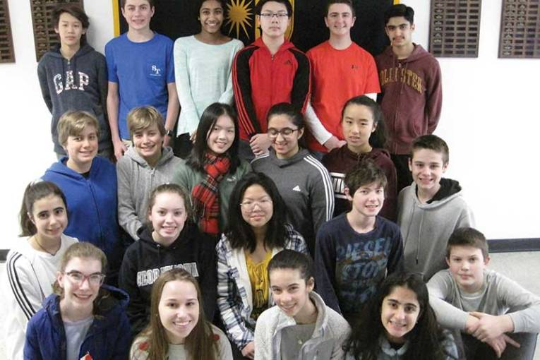 Amity Middle School Students Compete at the 71st Annual Connecticut Science & Engineering Fair