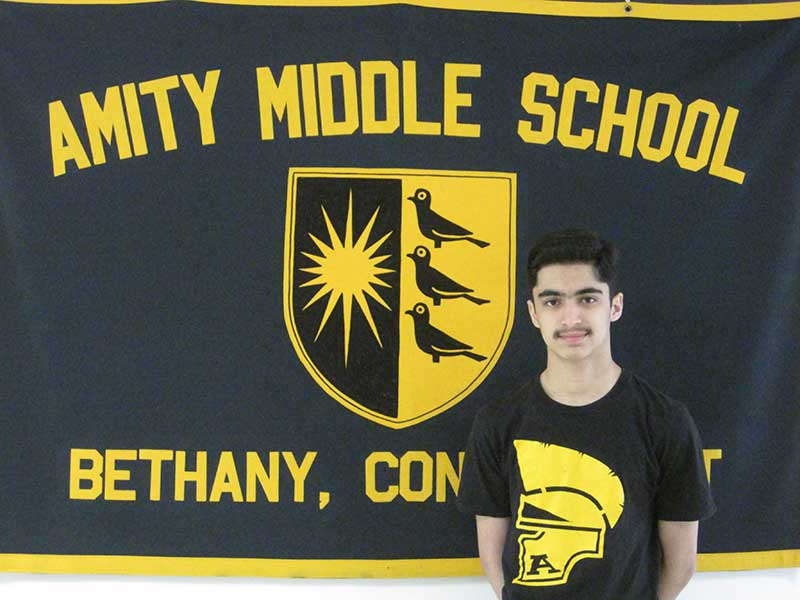 Amity Middle School Student Ranked 8th in CT Math Competition
