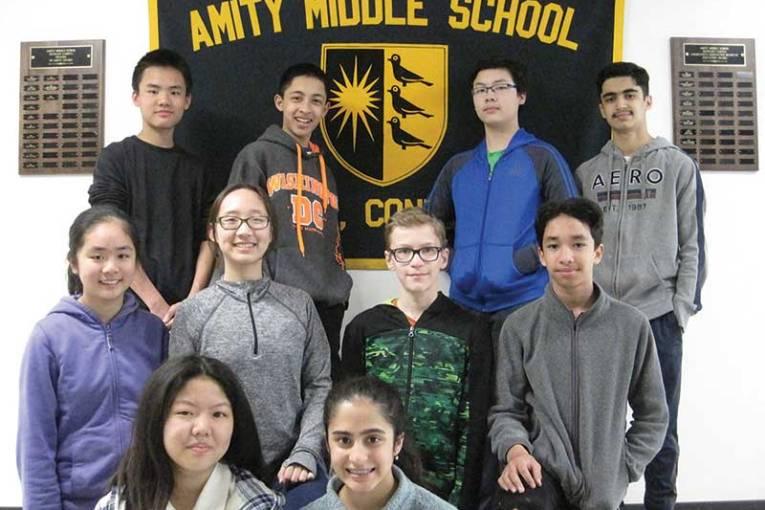 Amity Middle School 2019 New England Math League Contest