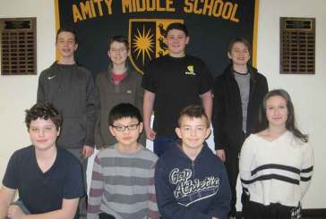 Amity Middle School National Geography Bee Finalists