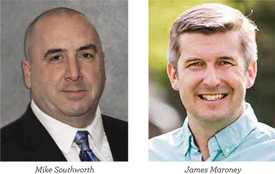 "Incumbent Touts His Strong Voting Record, Southworth Says Maroney Has ""Turned His Back on Local Police Officers"""