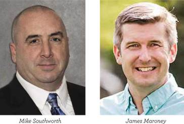 """Incumbent Touts His Strong Voting Record, Southworth Says Maroney Has """"Turned His Back on Local Police Officers"""""""
