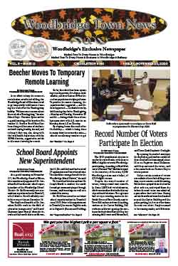 woodbridge town news cover from november 20, 2020