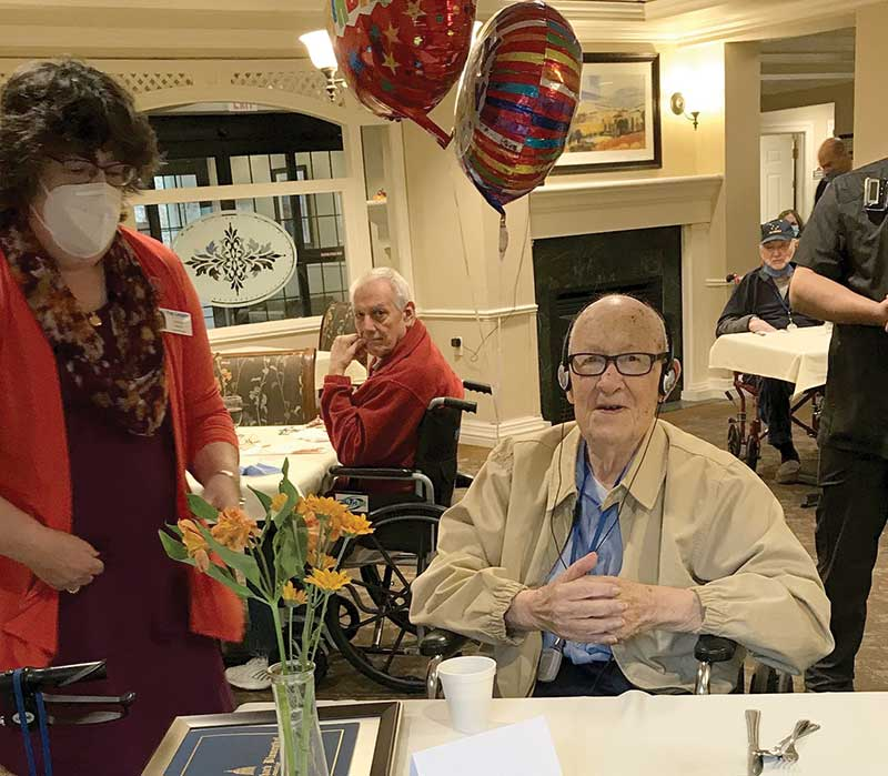 Sidney Hubelbank Celebrates his 100th Birthday!