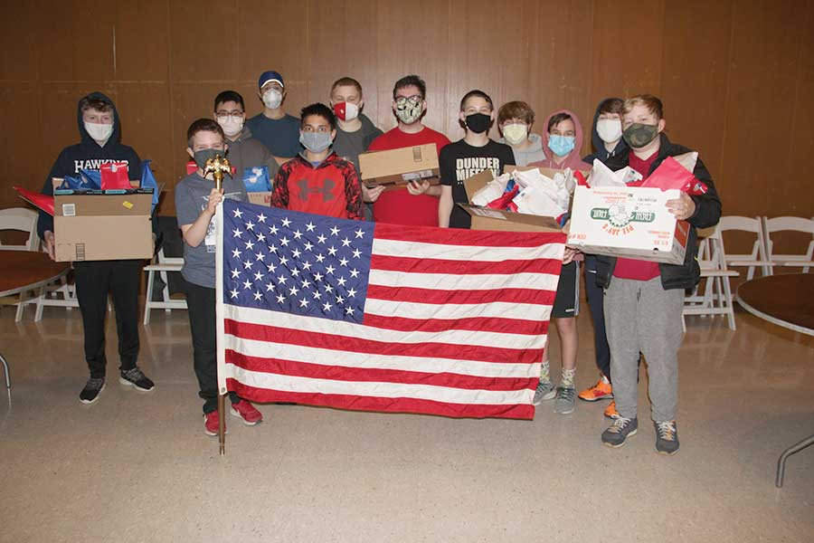 Troop 41 Eagle Scout Ben Martin Cares About the Veterans