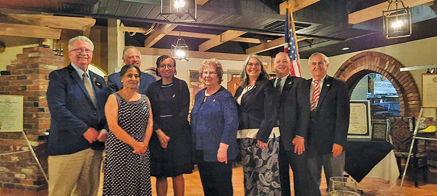Rotary Club Holds Annual Installation Dinner