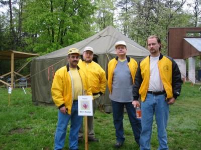 Denis (W4DC), Dean (NL7TK), Bob (W4ZY) & Denny (N8CIA)