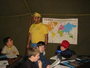 Denis (W4DC) teaching
