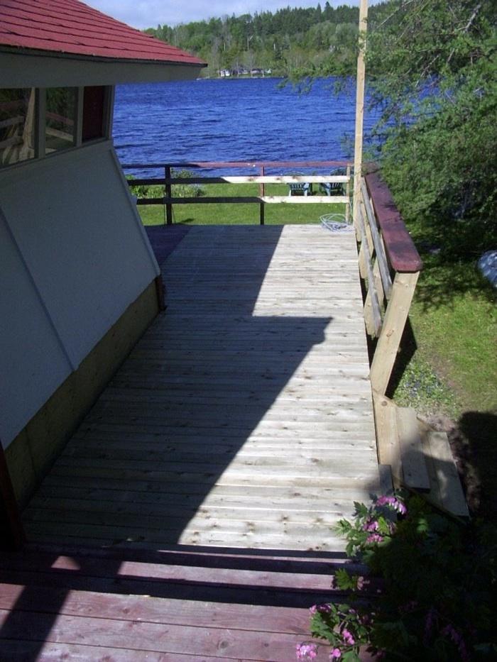 Deck finished.