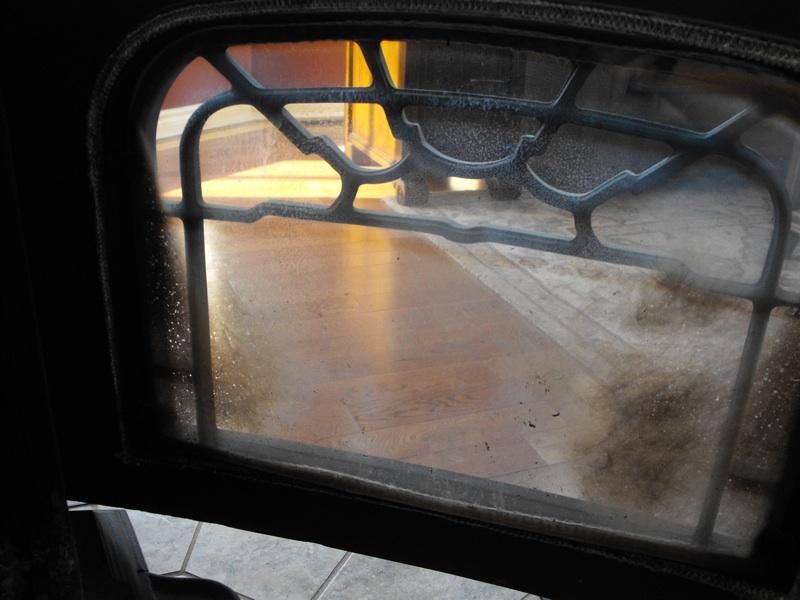 Harman Oakwood door glass