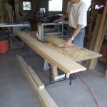 Making some shiplap siding
