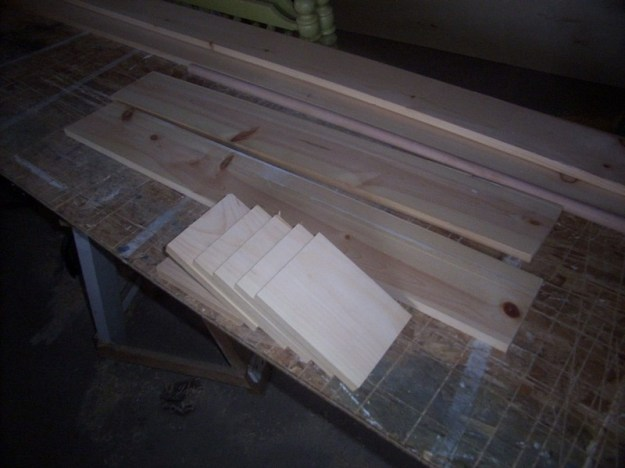4H project - bookend blanks