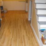 Basement laminate flooring