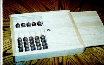 An abacus woodworking project