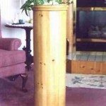 Pedestal base woodworking project.