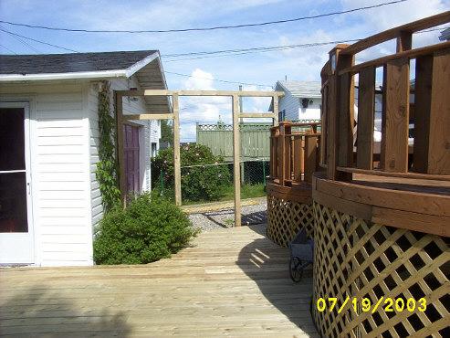 DIY deck building