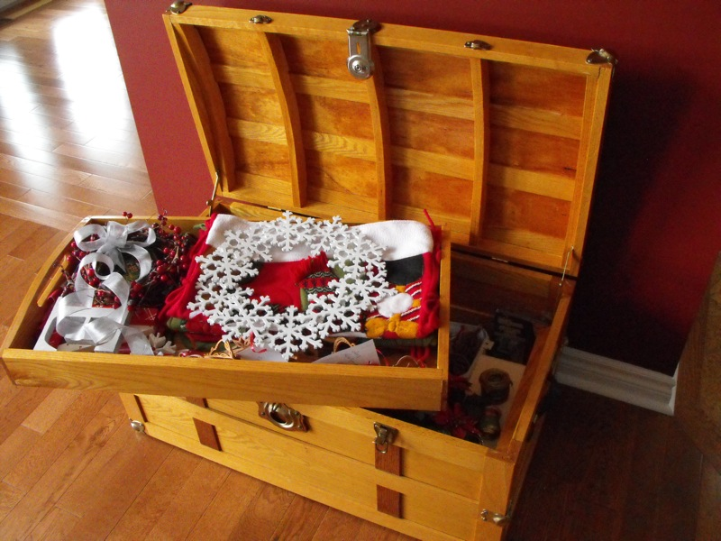 Steamer trunk project