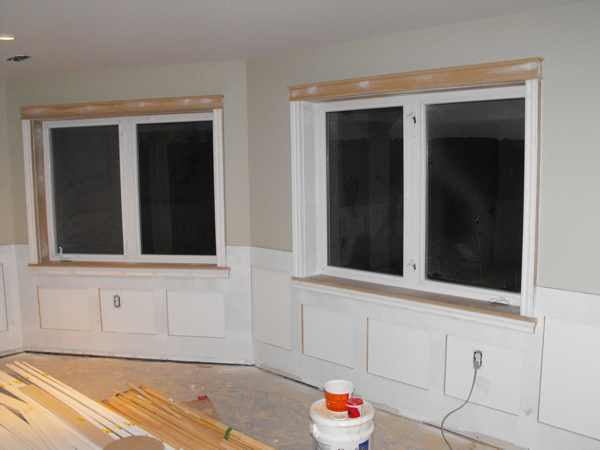 Wainscoting In The Basement Part 13