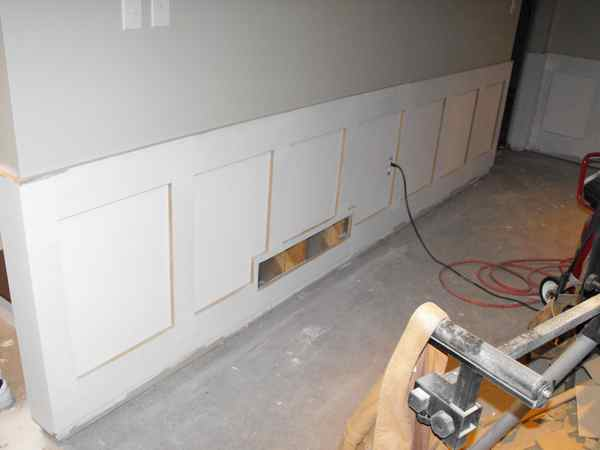 Carpentry and custom wainscoting